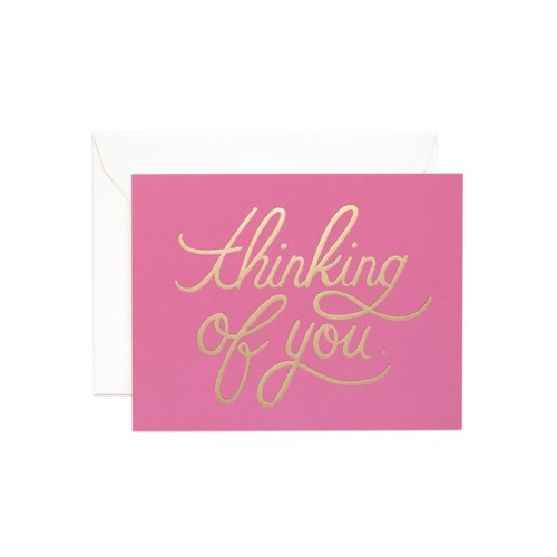 Boxed set of Thinking of You Foil cards