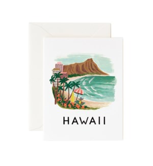 Boxed set of Hawaii cards