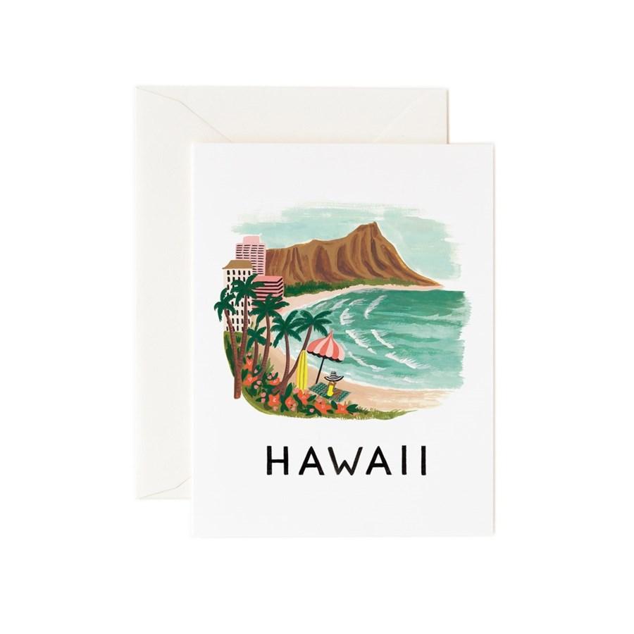 Boxed set of Hawaii cards
