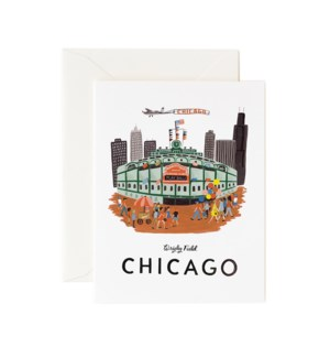 Boxed set of Chicago cards