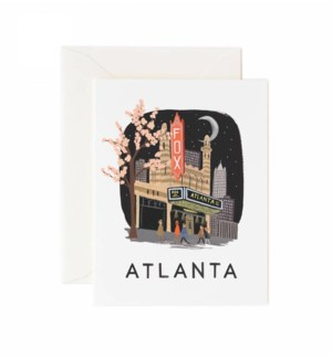 Boxed set of Atlanta cards