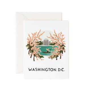 Boxed set of Washington cards