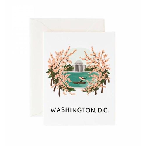 Boxed set of Washington cards