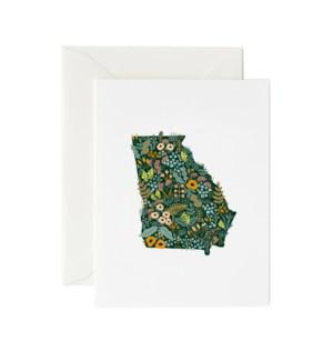 Boxed set of Georgia Wildflowers card