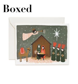 Boxed set of Nativity cards