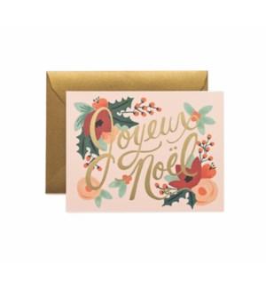 Boxed set of Joyeux Noel cards