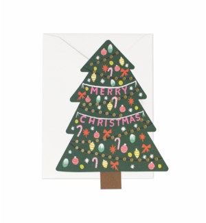 Boxed set of Christmas Tree cards