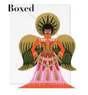 Boxed set of Happy Holidays Angel cards