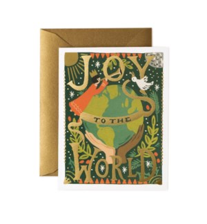 Boxed set of Joy to the World Card