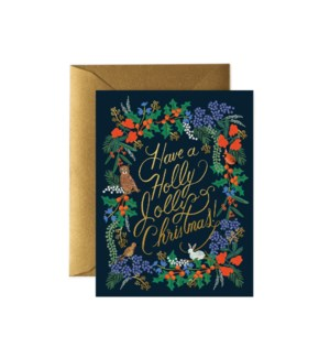 Boxed Set of Holly Jolly Christmas cards