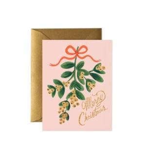 Boxed Set of Mistletoe Christmas cards