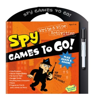 Spy Games To Go - Back in stock 7/22