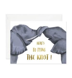 Knotty Elephants|Good JuJu Ink