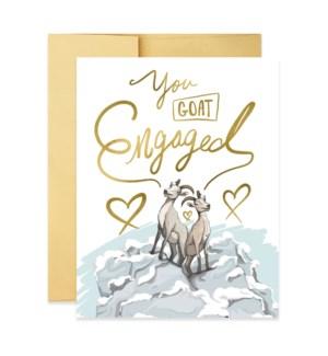 You Goat Engaged|Good JuJu Ink