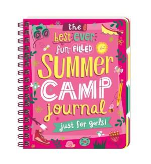 Summer Camp Journal For Girls