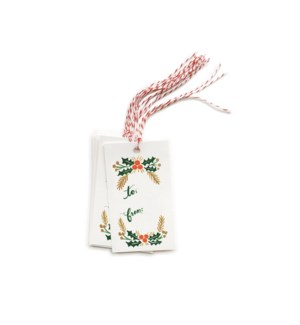 Pack of 10 Garland Gift Tags