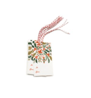 Pack of 10 Winter Berries Gift Tags