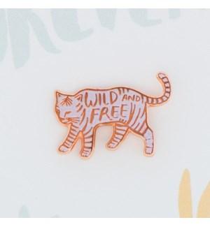 Wild And Free-Enamel Pin
