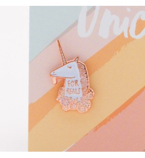 For Reals-Enamel Pin