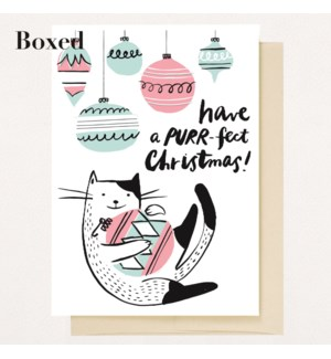 Purr-Fect Christmas - Set of 6