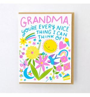 Every Nice Thing Grandma