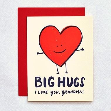 Hugs Grandma