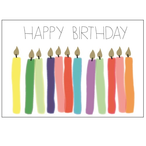 Happy Birthday Candles|Halfpenny