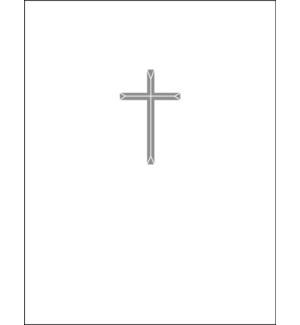 Silver Cross letterpress 4.25x5.5 Halfpenny