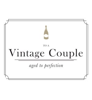 To a Vintage Couple|Halfpenny