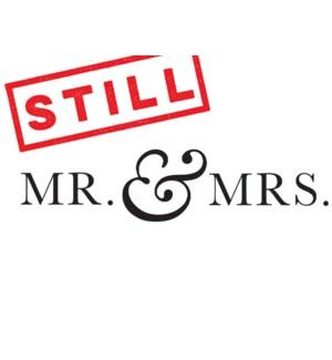 Still Mr. & Mrs. Halfpenny