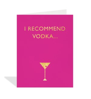 I Recommend Vodka|Halfpenny