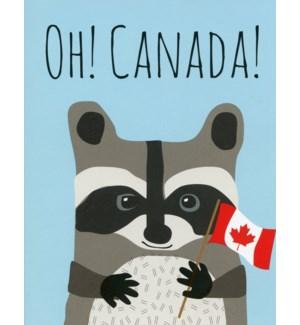 Raccoon Canada|Halfpenny