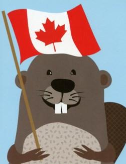 Beaver Canada 4.25 x 5.5 |Halfpenny