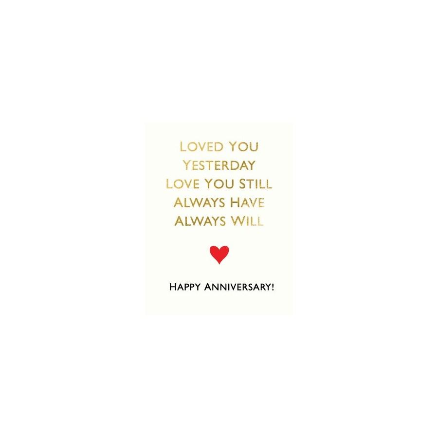 Always Will|Halfpenny