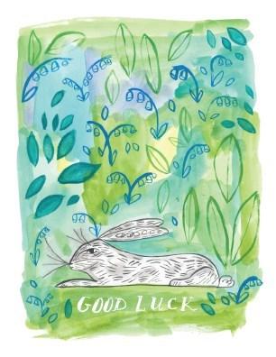 Good Luck Rabbit|Halfpenny