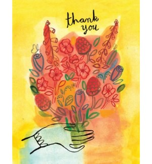 Thank You Bouquet|Halfpenny