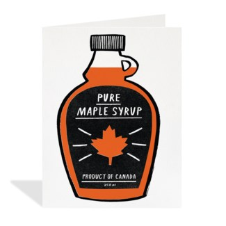 SF Maple Syrup 4.25x5.5|Halfpenny