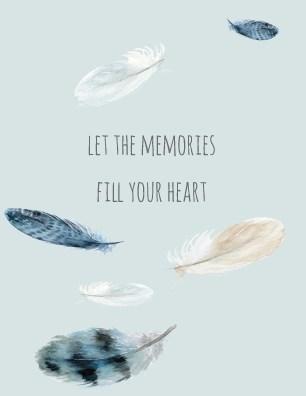 Memories Fill your Heart Halfpenny