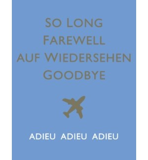 So long Farewell 4.25x5.5|Halfpenny