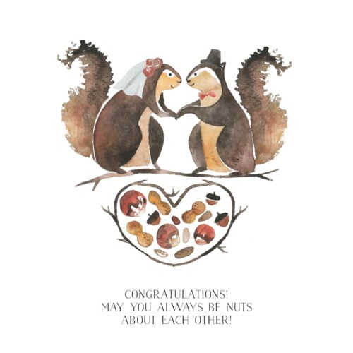 Squirrel Wedding|Loose Leaves