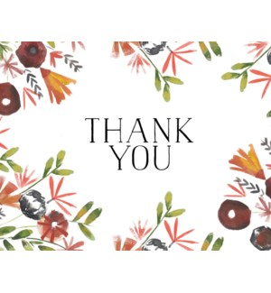 Floral Thank You|Loose Leaves