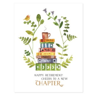New Chapter Retirement  4.5x5.5|Loose Leaves