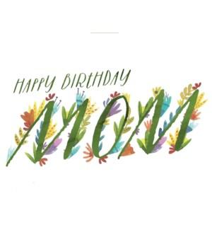 Mom Birthday 4.25x5.5|Loose Leaves