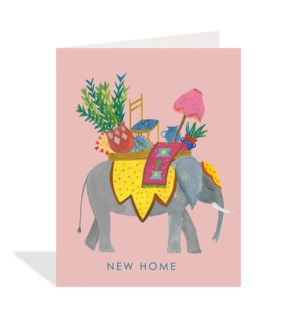 Elephant new home 4.25x5.5|Halfpenny
