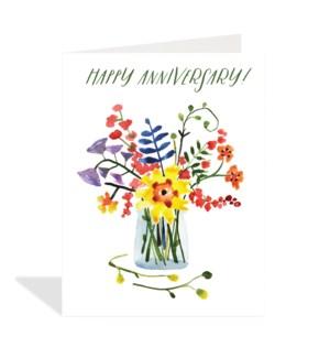Floral Anniversary Halfpenny