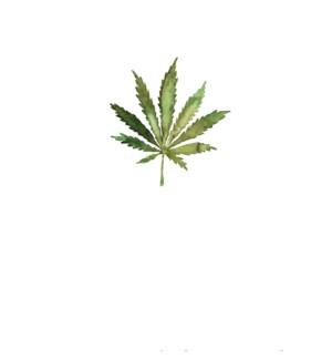 Cannabis leaf|Halfpenny
