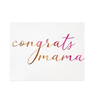 Congrats mama|Halfpenny