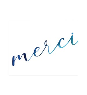 Merci watercolour|Halfpenny