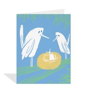 Birds And Nest|Halfpenny