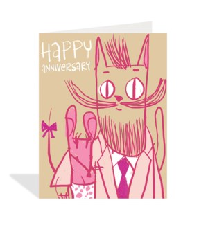 Cat And Mouse Couple|Halfpenny